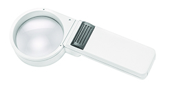 Mobilux Economy Illuminated Hand-held Magnifier - 5x