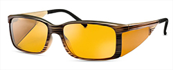 WellnessPROTECT Eyewear - Small Brown Frame