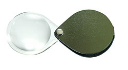 Classic Folding Pocket Magnifier - Pine Green