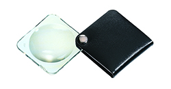 Classic Folding Pocket Magnifier - Black
