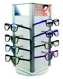 Polinelli Readers Display - 16-Piece - Display Only