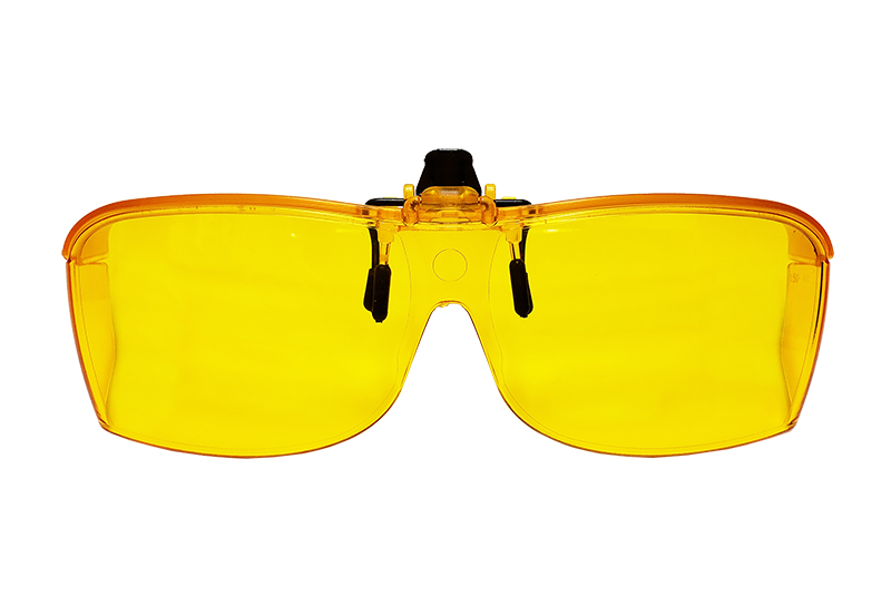Eschenbach Solar Shields Yellow Filter Brand New LARGE FitOvers Sunglasses