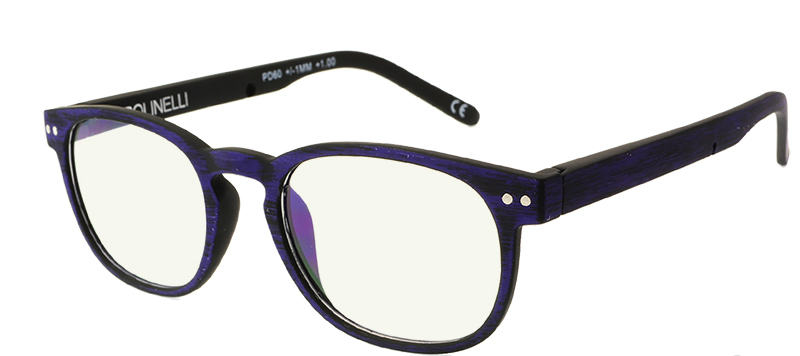 6d5ece457a8 Polinelli Reader - Purple Black