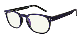 Polinelli Reader - Purple/Black